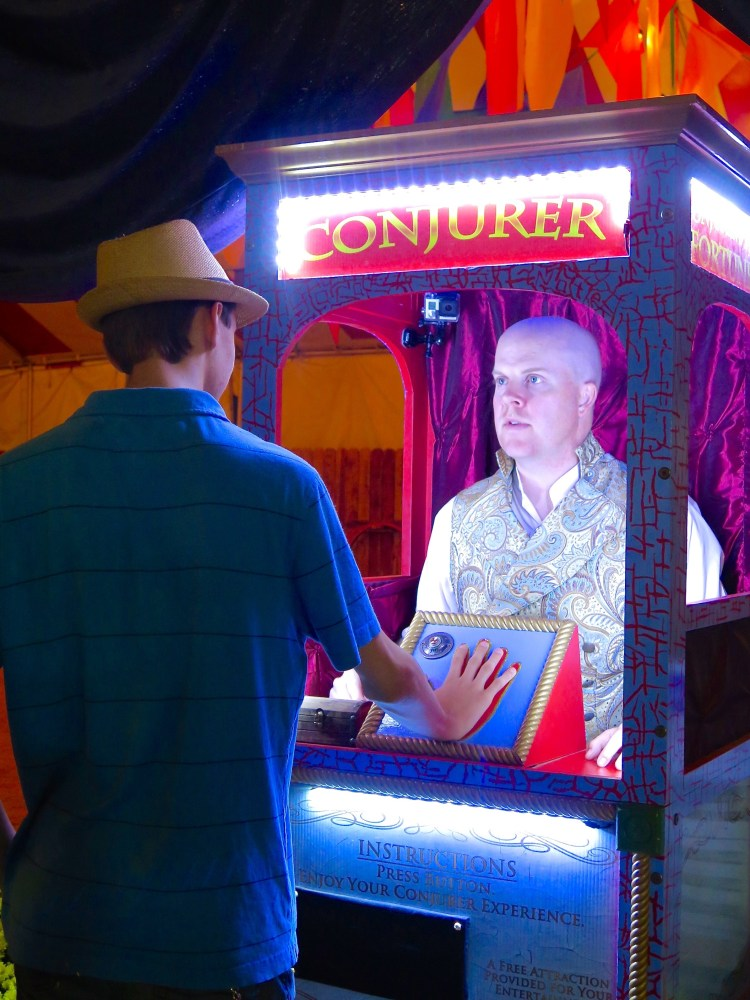 Sorry Zoltar, it looks like humans are finally replacing robots for once.