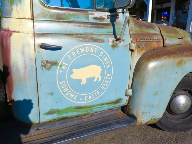 This roadside diner in Sonoma, CA serves up some pretty tasty reimagined down-home comfort food.