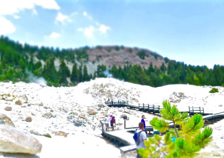 Bumpass Hell is named after Kendall Vanhook Bumpass who stumbled on this area in the late 1800's while hiking.