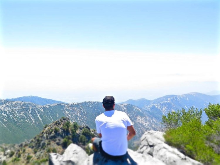 The views from Mt. Disappointment didn't disappoint.