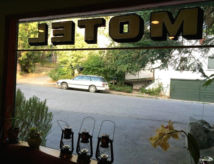 After the first few nights of camping, it felt good to stay in a motel on the fourth night of our trip. The Outside Inn near Highway 49, is a casual, family-owned motel in downtown Nevada City.