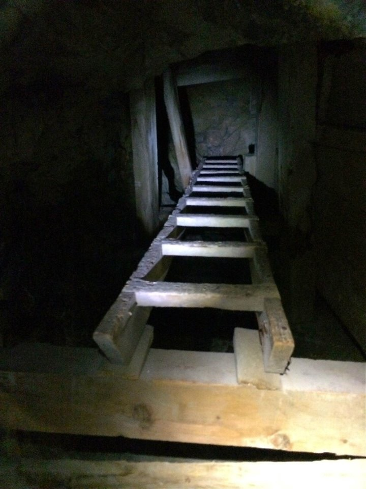 From 1932 through the 1980's the mines at Reward would change ownership a handful of times, the last being International Recovery of Los Angeles. From 1889 to 1951 the Reward mines produced $600,000 (19,370 oz.) of gold, 102,600 oz. of silver, 30,900 lb. of copper and 203,300 lb. of lead (Conrad et al., 1987). Figures from 1952 on are not available.