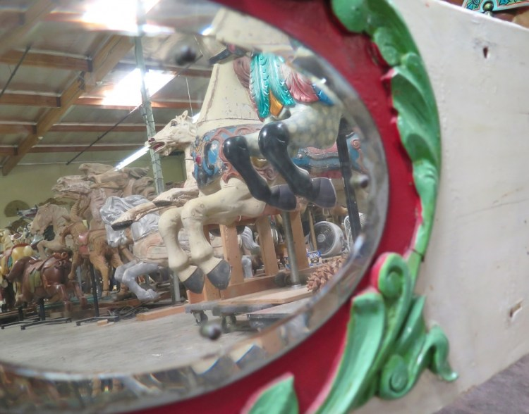 Lourinda Bray is in the process of founding a major carousel museum and carousel exhibition center to protect and present carousel figures and all who appreciate them, in a highly favorable light via education and showcase.
