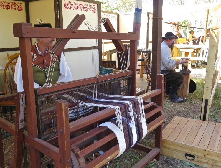 Craft workers and reenactors did their best at bringing a taste of the 16th Century to the Simi Valley Civic Center Park.