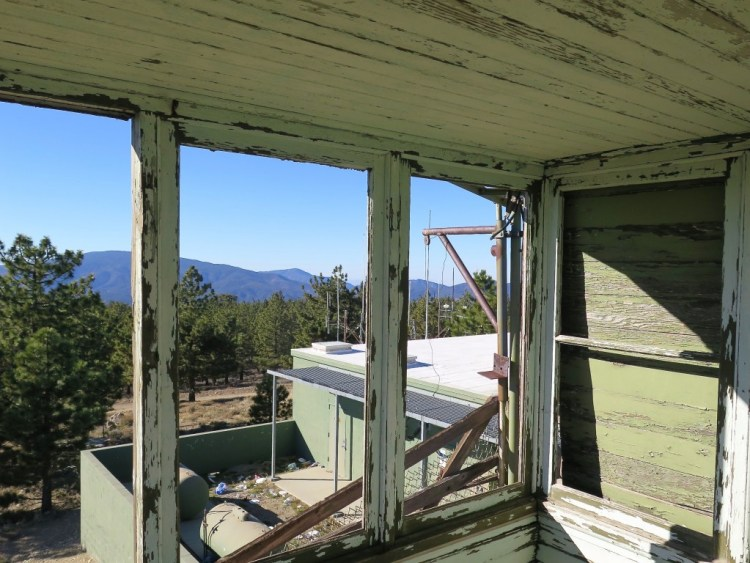 Forest personnel still chuckle about a lookout who, perhaps unable to handle the boredom of duty, got drunk and randomly fired a gun all over Frazier Mountain. The lookout radioed his superiors to report that someone was shooting at him. He didn't last long.