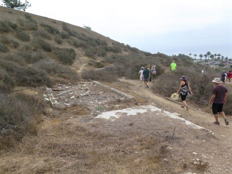 More ruins of LA-43 dot the hillside...
