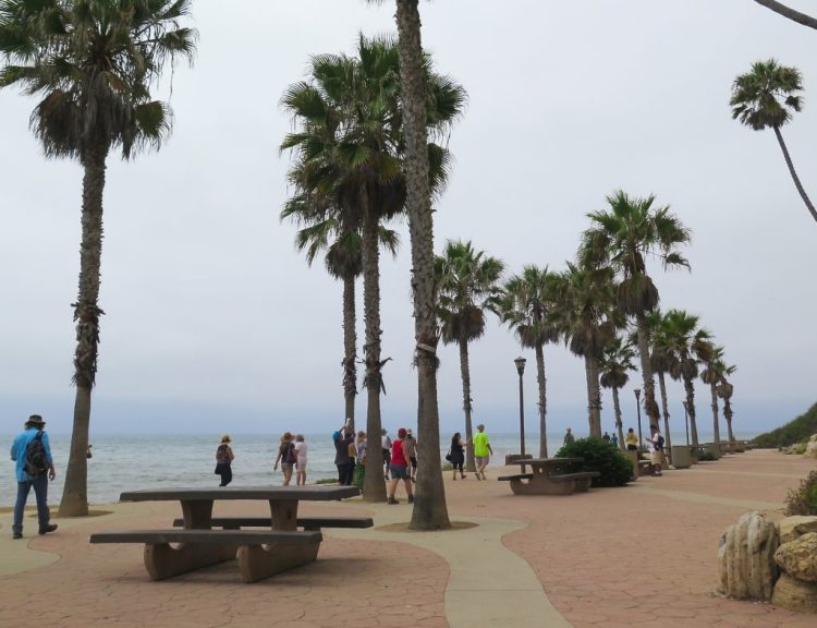 The state of California bought the beach area in 1960 and it became Royal Palms State Beach.