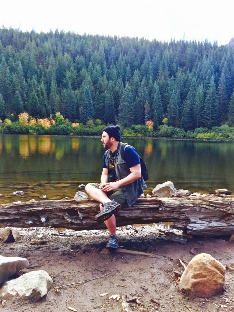 Mirror Lake is a classic glacial cirque lake.