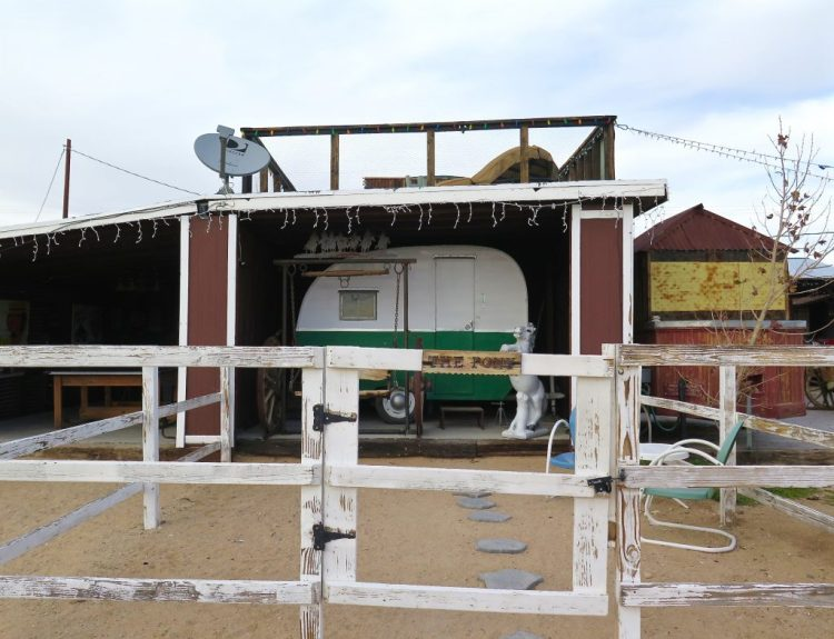 "Now how about those trailers? You can rent out ""The Pony"" who's kept in her own covered stall..."