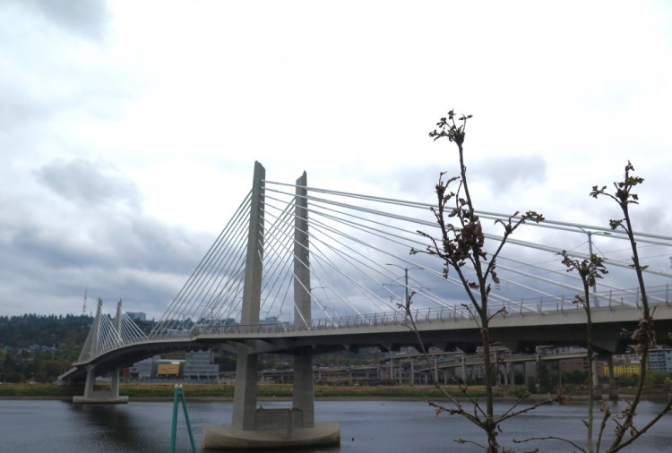There's a new bridge in bridgetown.