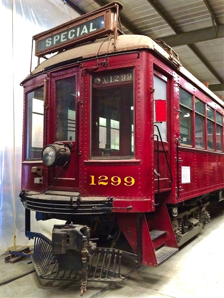 "Pacific Electric (PE) was America's largest interurban electric railway system, blanketing the LA region with more than 1,000 miles of rail lines. The origins of the ""Red Car"" system date back to 1895 with the opening of the region's first electric interurban line connecting Los Angeles with Pasadena."