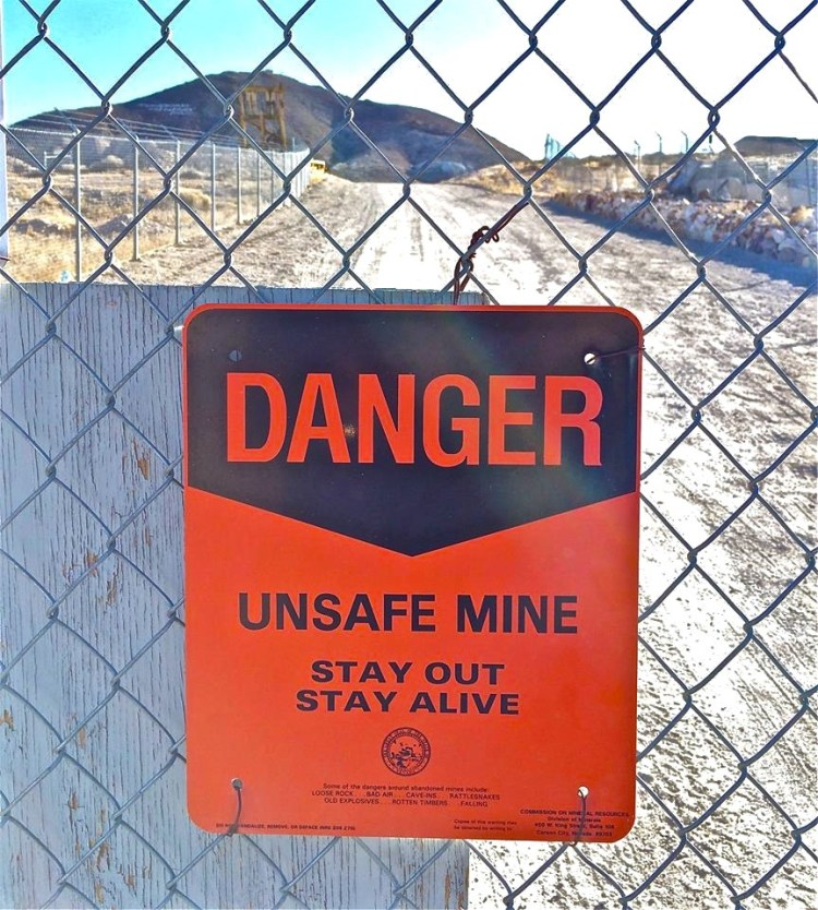 History tells us that the mines in this district produced in excess of five million tons of ore. At today's market the precious metals produced would be valued in excess of $1,200,000,000.