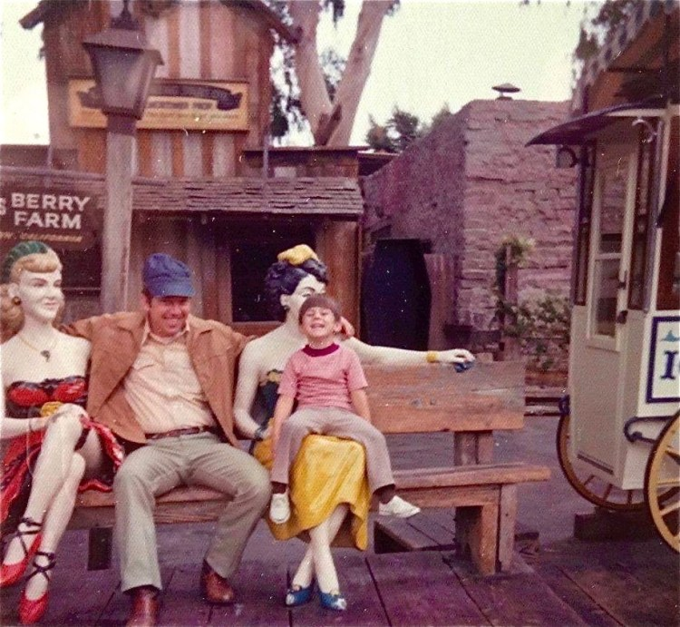 ...Claude Bell's creations always looked more realistic at Knott's when I was a kid [damn that kid's cute]...
