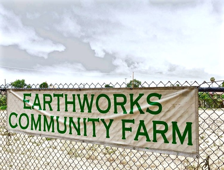 Earthworks Farm sits on land that's owned by the U.S. Army Corps of Engineers and leased to the County of Los Angeles, Department of Parks and Recreation.