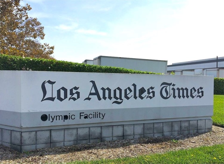The Los Angeles Times prints its newspapers daily, but this location is also the same place where The New York Times, The Wall Street Journal, USA Today, China Daily, and a number of other international newspapers print their news.