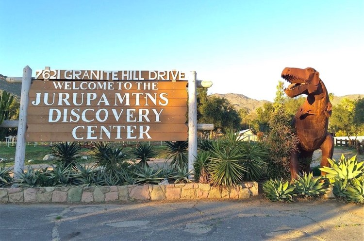 The Discovery Center, founded in 1964, is located on 82-acres at the base of the Jurupa Mountains.