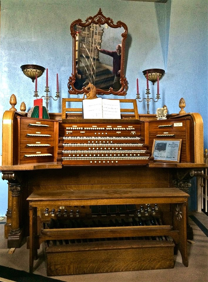 This 1929 Wangerin Organ came out of St. Vibiana Cathedral.