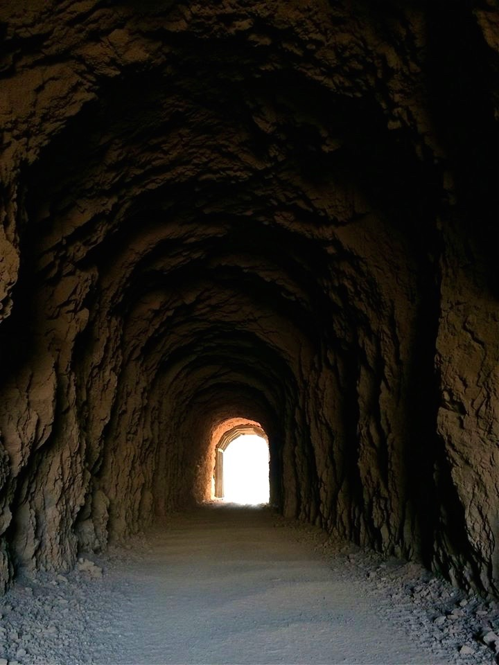 The tunnels were once designated as fallout shelters for Boulder City because they were so big.