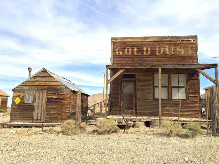 After my tour, I headed over to a nearby ghost town. The area that would become Gold Point was first settled by ranchers and a few miners during the 1880s. The small camp of Lime Point was formed a few hundred yards west of the present town, at an outcropping of limestone.