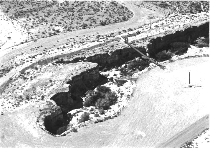 In 1936 he bought the 14,000 square foot ranch in Pahrump where the canyon would later be created.