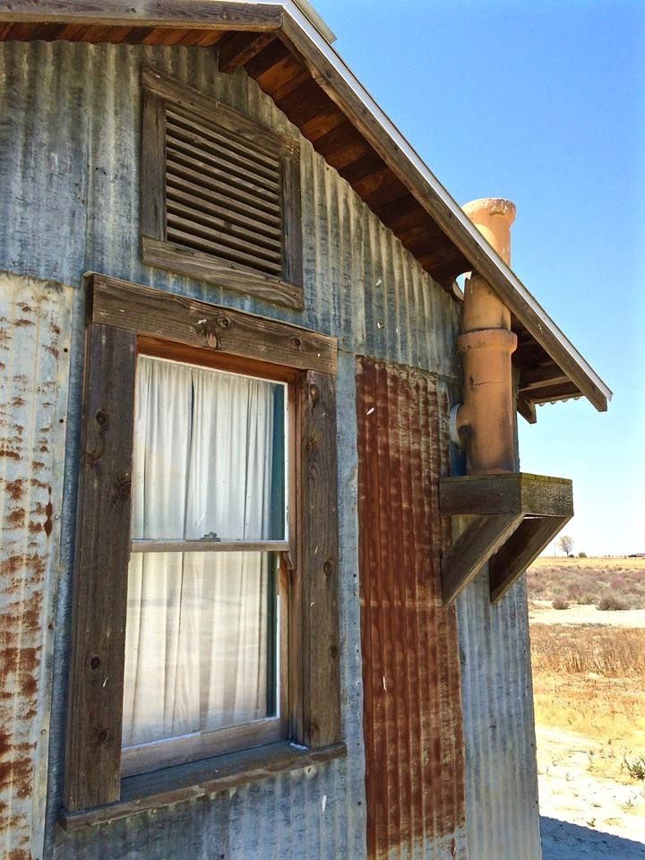 """Wiley Howard bought two lots here and built a small house in early 1915. Many of the Allensworth residents recalled that the house served mainly as temporary lodging. Some of the occupants were newcomers to the town waiting for their homes to be built. Others """"would come and stay a week or a month, and would be gone."""" Wiley Howard sold the property to L.C. Robinson in 1945."""