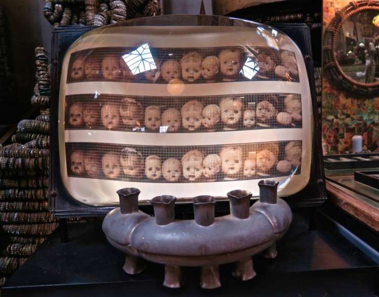The word 'wunderkammer' translates as 'wonder-chamber' or cabinets of curiosities; a place where a collection of curiosities and rarities is exhibited.