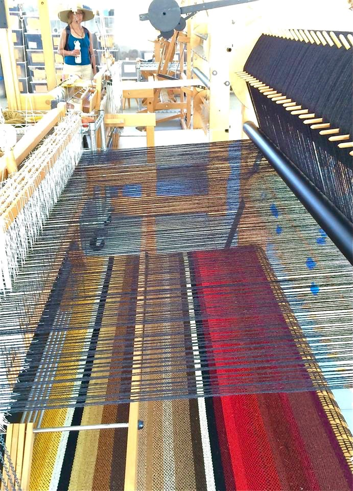 There's also a loom room.