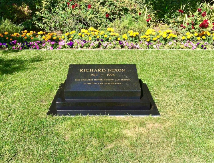 You couldn't think of a better ending. Yep, he's buried here next to his lovely wife Pat. RIP.