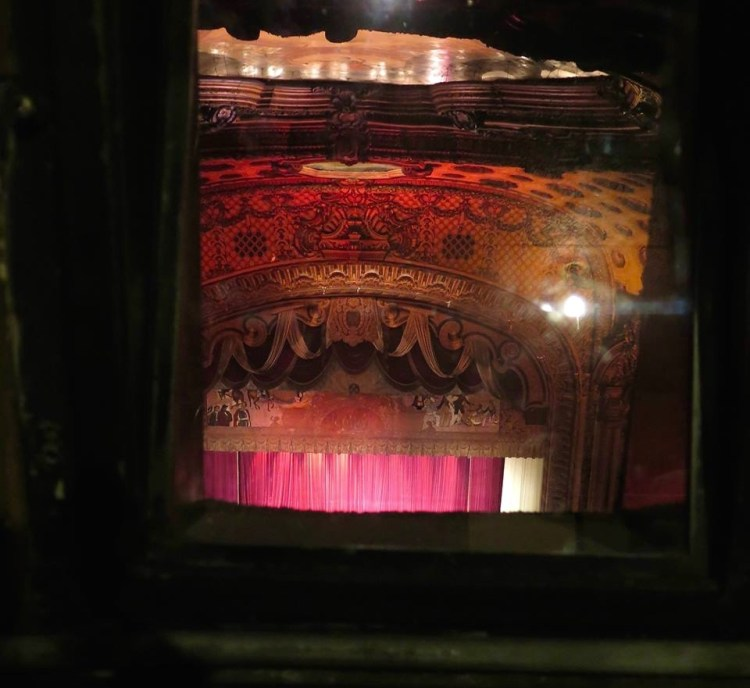 Large speakers were also installed above the proscenium and in the organ chambers for live shows, and the auditorium was one of the first to be 'tuned' for amplified sound.