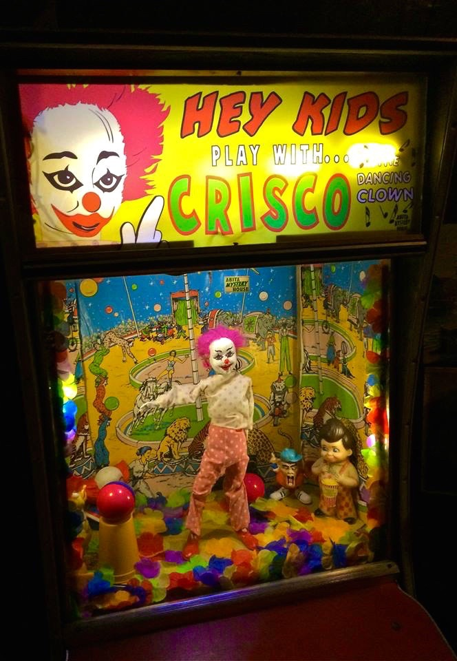 Kids + Crisco the Clown = What's the mystery again?