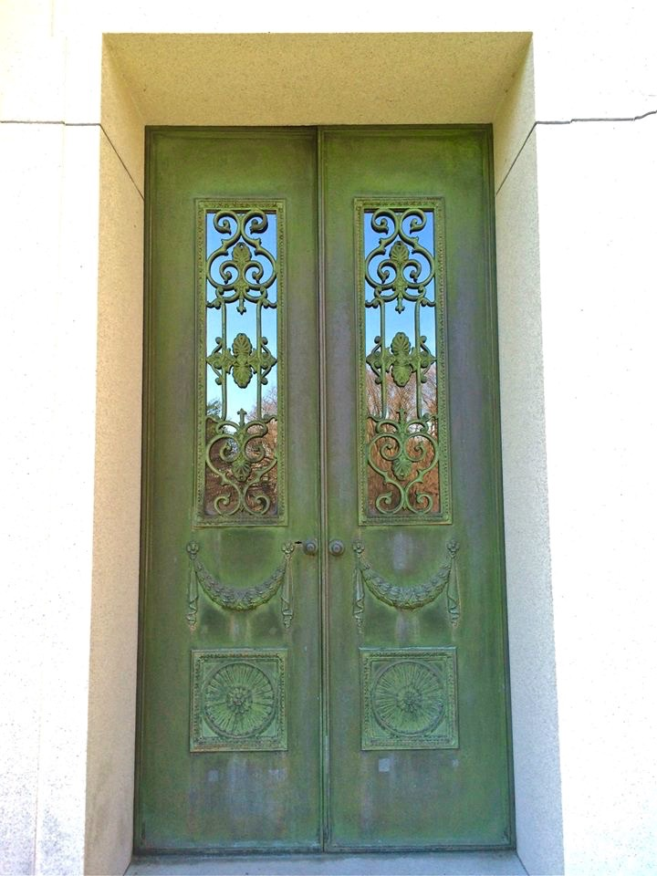 The doors to heaven.