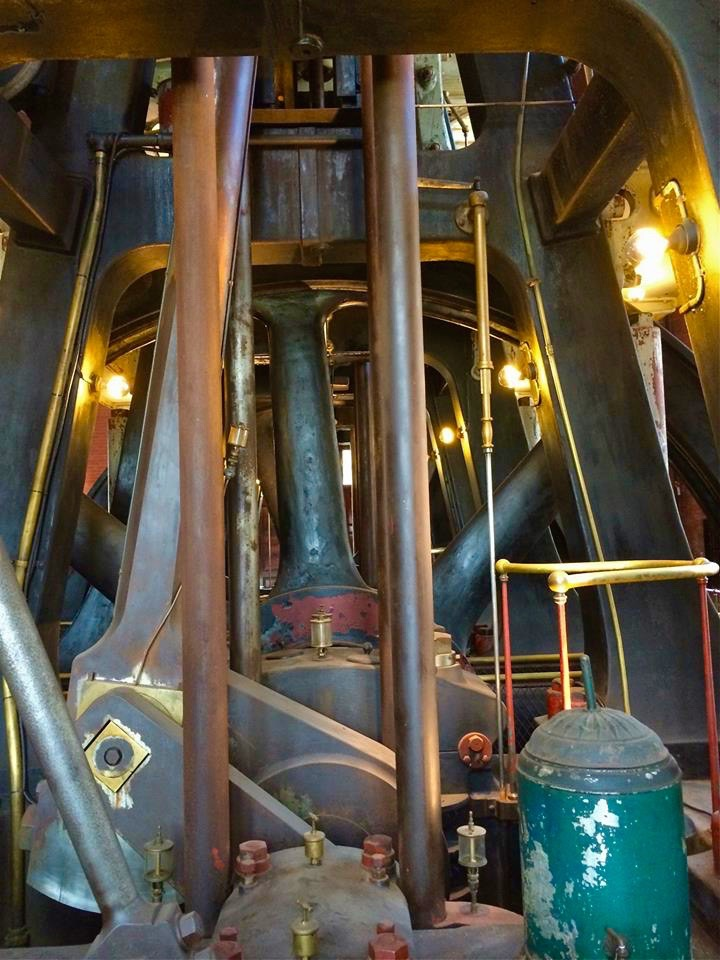 Inside the Waterworks Museum is a giant mass of twisting pipes, gears, and levers make up the archaic engines that were used to pump drinking water for all of Boston, Brookline, Quincy, and Milton as well as communities far south as Norwood and Canton.