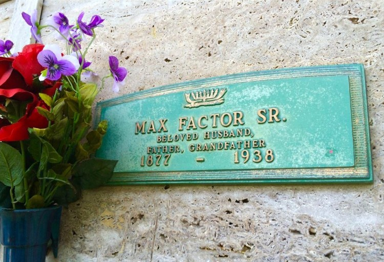 Founder of cosmetics giant Max Factor & Company, he largely developed the modern cosmetics industry and popularised the term make-up in noun form based on the verb.
