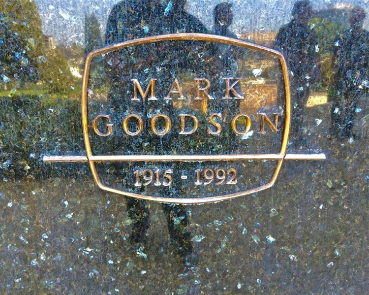 Mark Goodson was an American television producer who specialized in game shows. My 15 years of working at Game Show Network came in handy after one of the gravers lost his info card. Yes I know way too much about game shows.