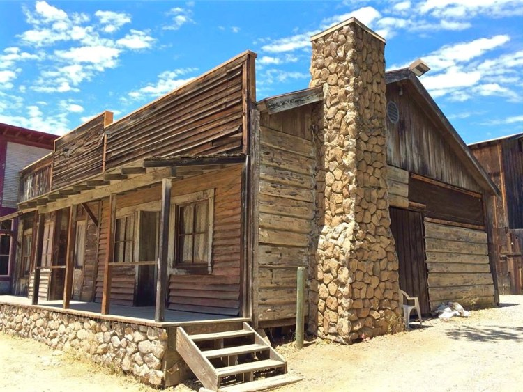 While the western movie town may not be as exciting as a real ghost town, it was still fun walking around its two short blocks and taking a peek inside the mostly empty interiors.