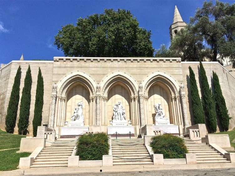 Over 250,000 souls and counting grace Forest Lawn Glendale.