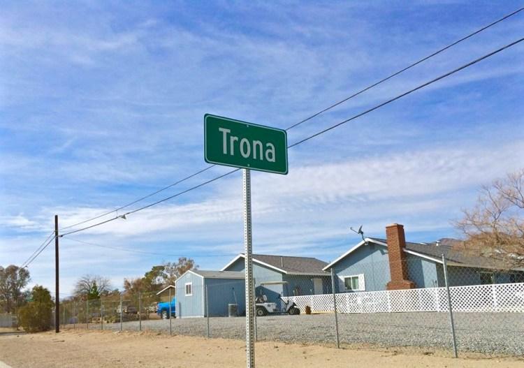 Oh Trona.