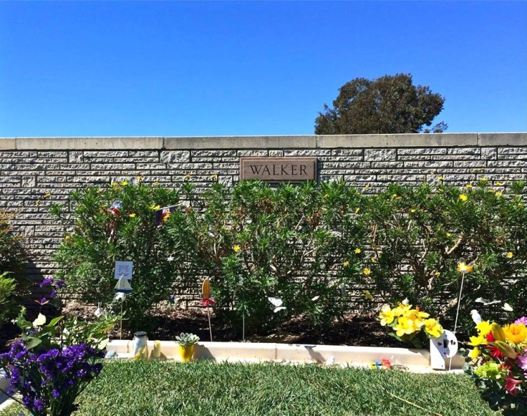 One of the newest celebrities to join Forest Lawn Hollywood is Paul Walker.