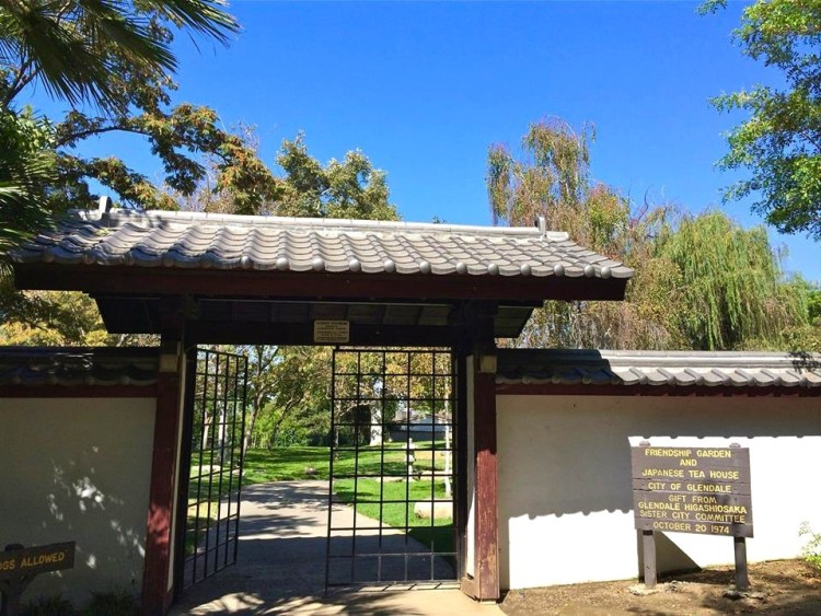 "The Shoseian ""Whispering Pine"" Japanese Tea House, built in 1974 through combined efforts of the Sister Cities of Glendale and Higashi-Osaka, Japan is one of the few traditional Japanese Teahouses open to the public in the United States."