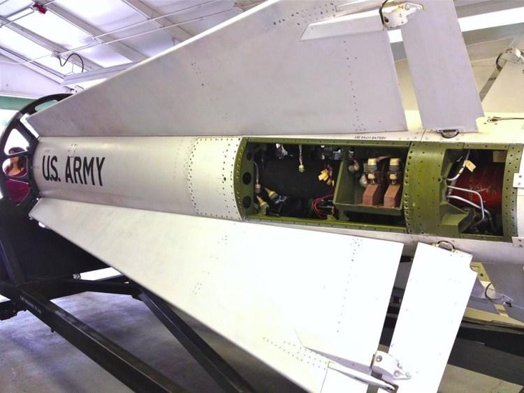 Nike Hercules missile.