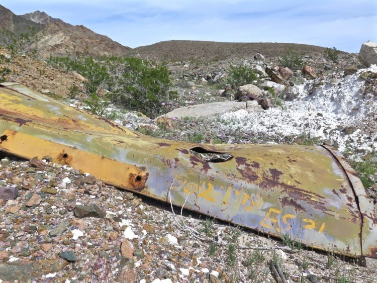 Random piece of mining equipment found while exploring the area.