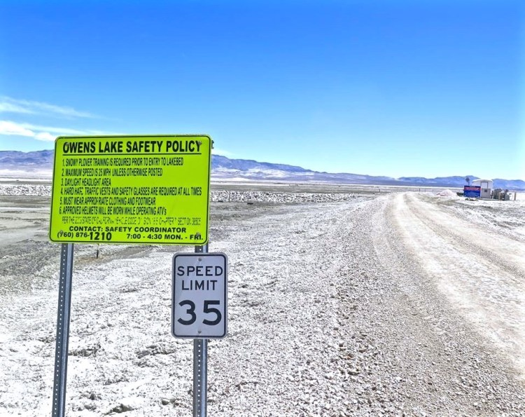 The Owens Lake Trails officially opened to the public on April 29, 2016.