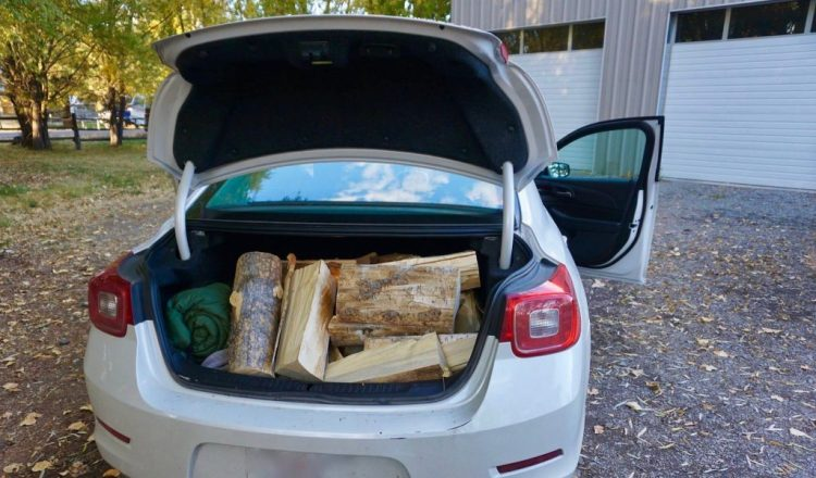 Fortunately Paisley Mercantile had plenty of wood