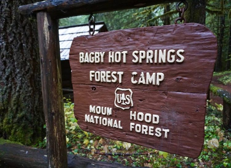 No amount of time at the museum could prepare me for the insanity we found when visiting Bagby Hot Springs which is located in the