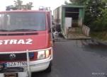 Pożar samochodu ciężarowego - 14.07.2015r (10)