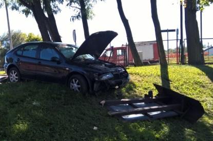 Wypadek w Pilicy - 31.8.2016 (1)