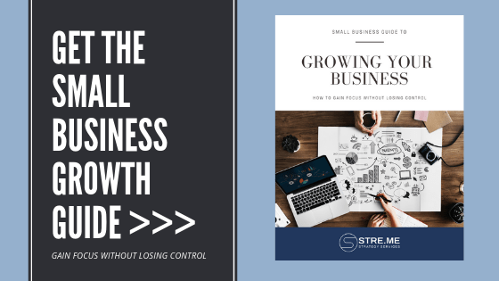 Small business growth guide Learn how to gain focus without losing control