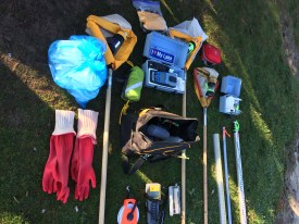 Water sampling equipment (c) Rebecca SpringWWF