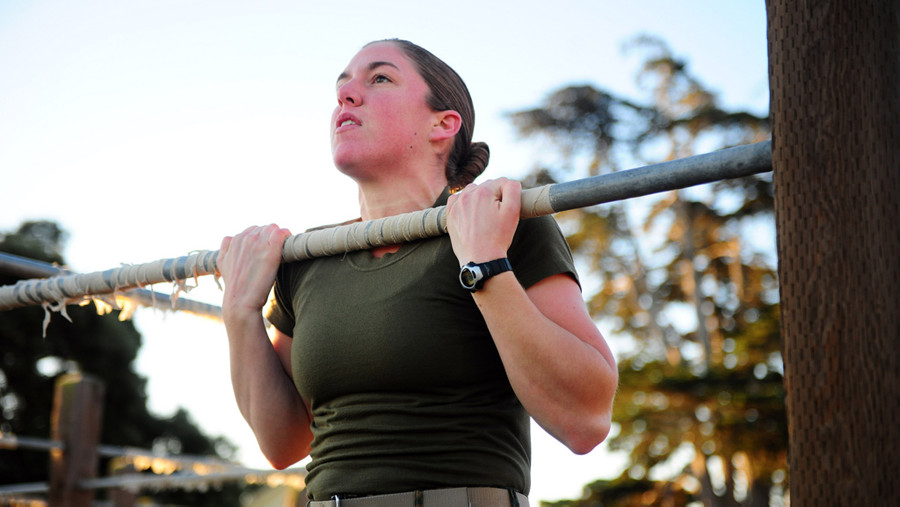 Marine Corps Changes Fitness Test To Accommodate Women