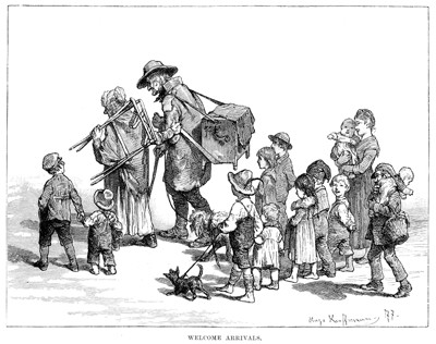 How America's Source of Immigrants Has Changed, 1850